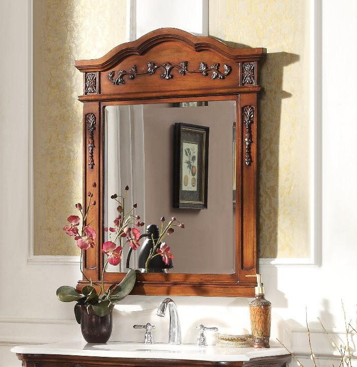 Benson 28-inch Wall Mirror MR021TK - Chans Furniture