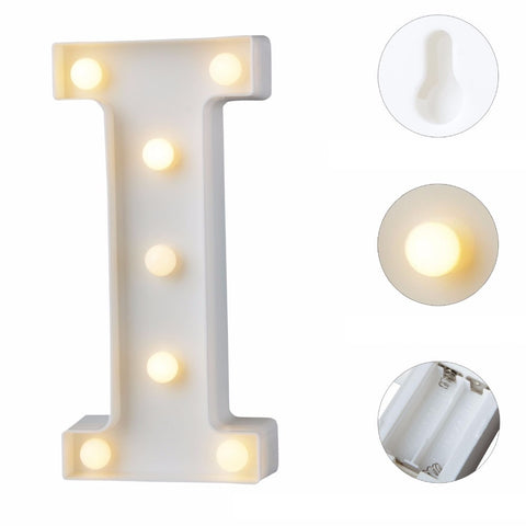 Image of LETRAS DECORATIVAS CON LUZ LED