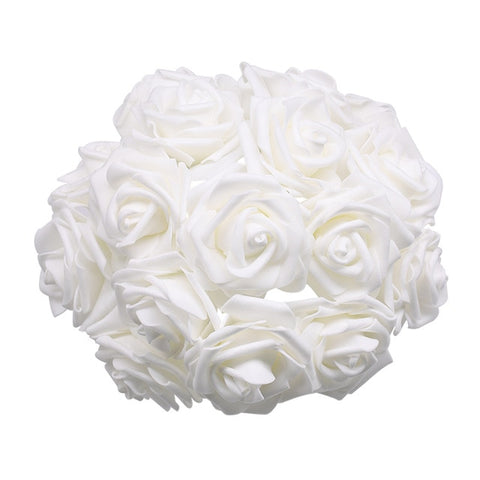 ROSAS DECORATIVAS (24 UNID)