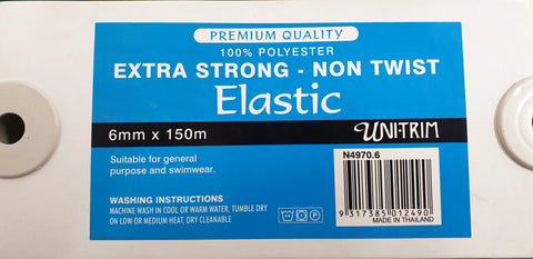 Elastic Extra Strong Non Twist 6mm