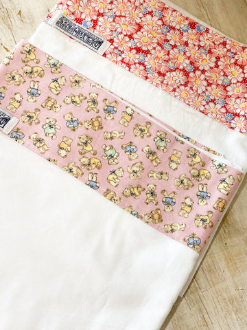 Handmade Children's Cotton Top Sheet/ Wrap Bedding