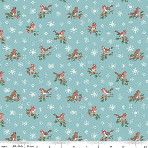 Liberty Festive Collection Jolly Robin