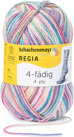 Regia Colour Sock Yarn 4ply 5025
