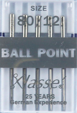 Klasse Ball point  Machine Needles