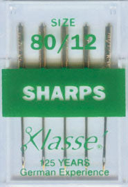 Klasse Sharps Machine Needles