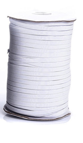 Elastic 3mm white