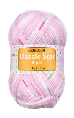 Heirloom Dazzle Star 8ply