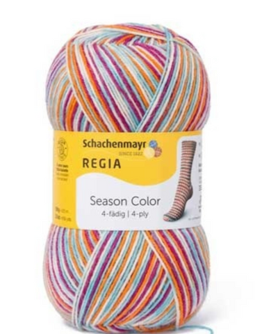 Regia Colour Sock Yarn 4ply 9410