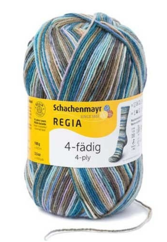Regia Colour Sock Yarn 4ply 4457