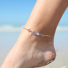Load image into Gallery viewer, Crystal Pineapple Anklet