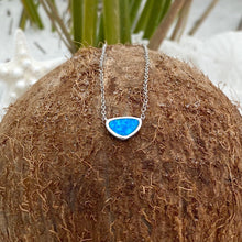 Load image into Gallery viewer, Window into the Ocean Blue Opal Necklace