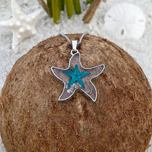 Load image into Gallery viewer, Deep in the Ocean Starfish Necklace
