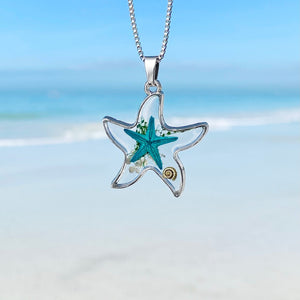Deep in the Ocean Starfish Necklace