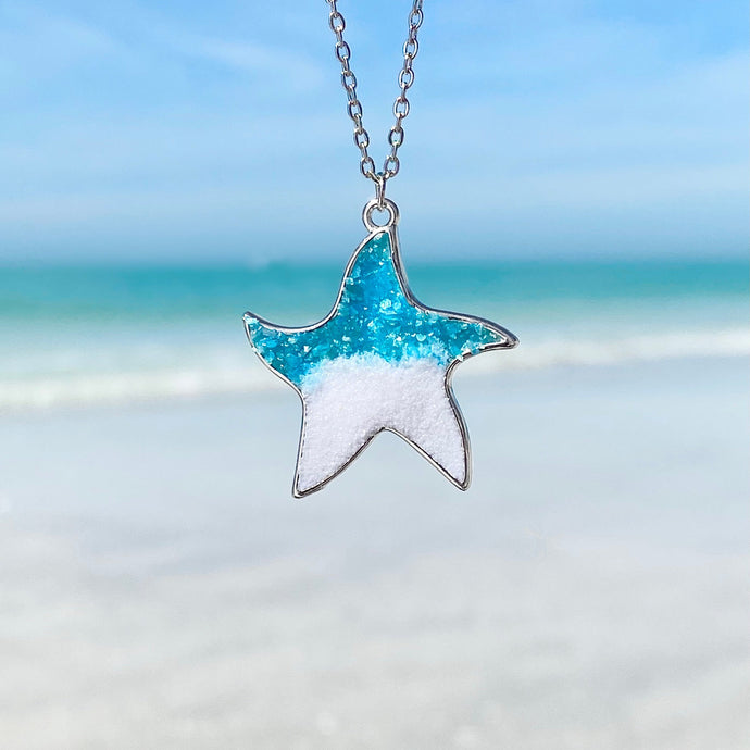 Little Rock Starfish Necklace