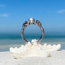 Load image into Gallery viewer, Mermaid Pearl Ring