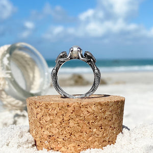 Mermaid Pearl Ring