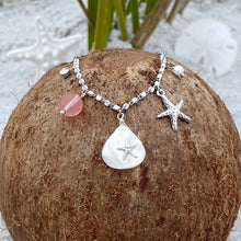 Load image into Gallery viewer, Mother of Pearl Starfish Necklace