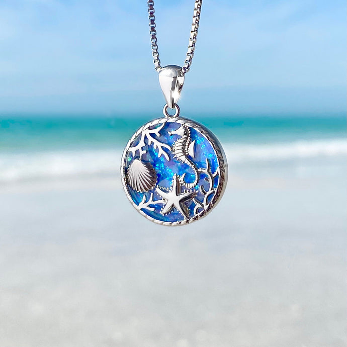 Window into the Sea Necklace