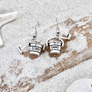 Sand Bucket & Shovel Earrings