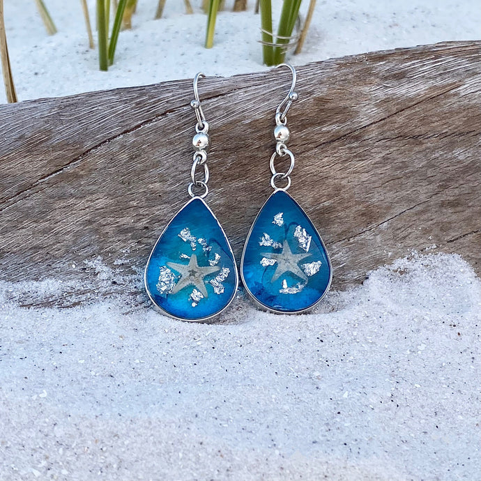 Under the Sea Starfish Earrings