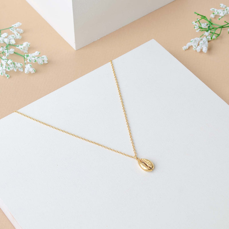 Concha Necklace Gold