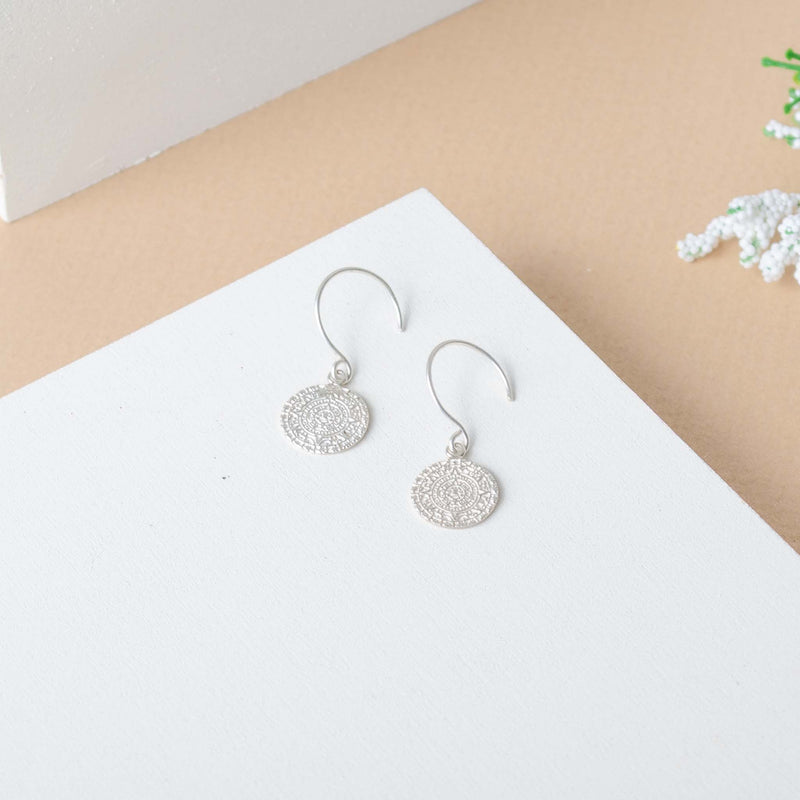 Maia Earrings Silver