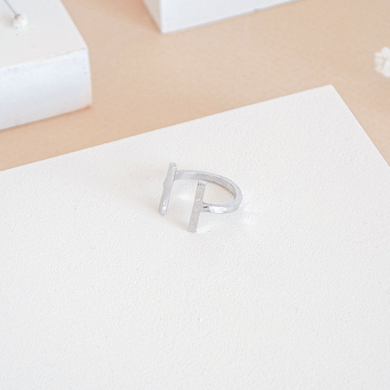 ARMADA Silver Ring Hammered - CANO