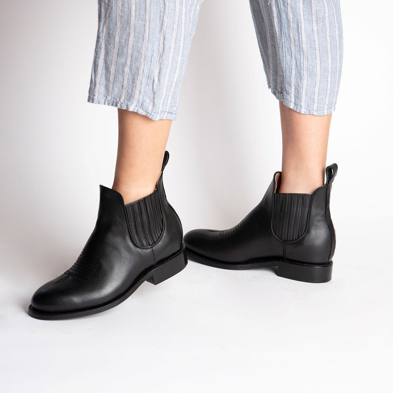 MARTHA Charro Boot Black