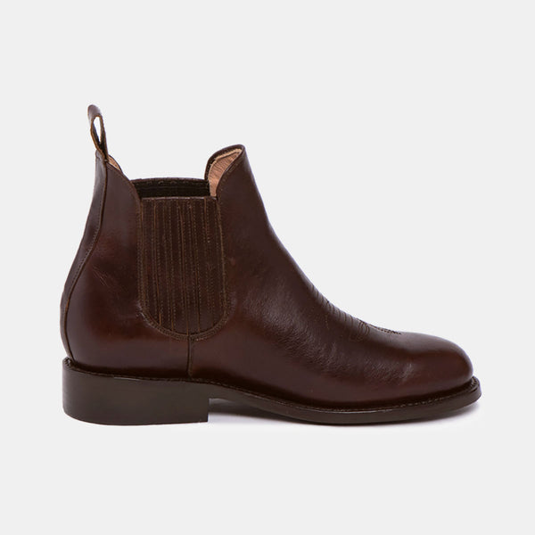 CARLOS Charro Boot Chocolate