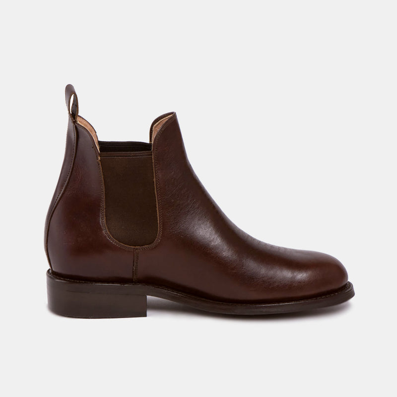 PEDRO Chelsea Tire Boot Chocolate