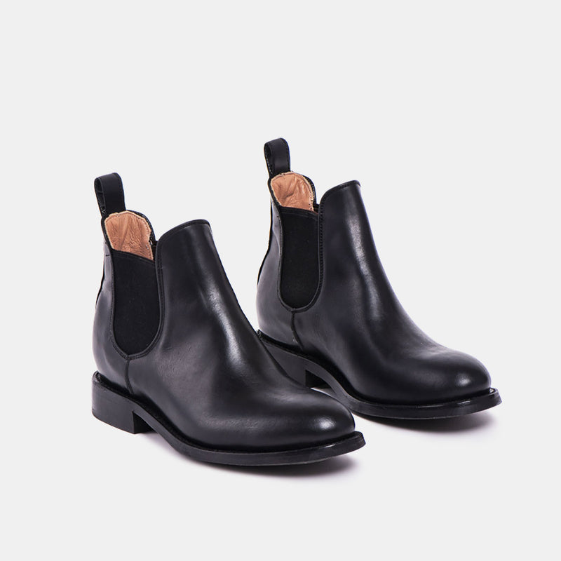 DENISE Chelsea Tire Boot Black - CANO