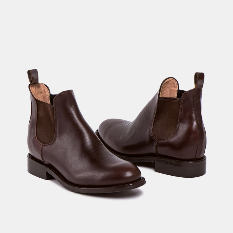 DENISE Chelsea Boot Chocolate Tire - CANO