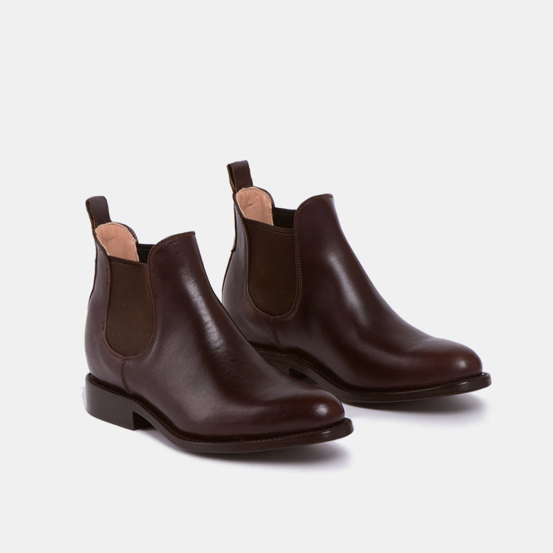 MARIA Chelsea Boot Chocolate