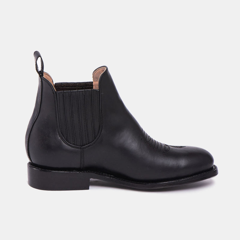 MARTHA Charro Boot Black - CANO