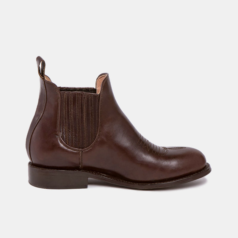 MARTHA Charro Boot Chocolate - CANO