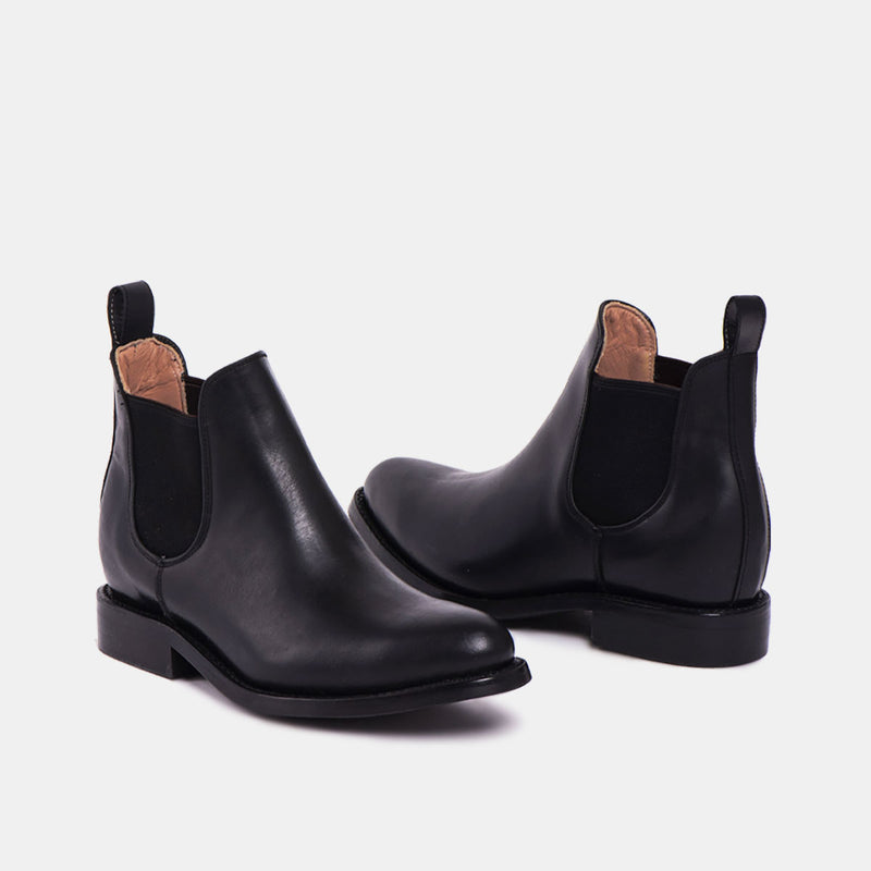 MONTSE Chelsea Tire Boot Black - CANO