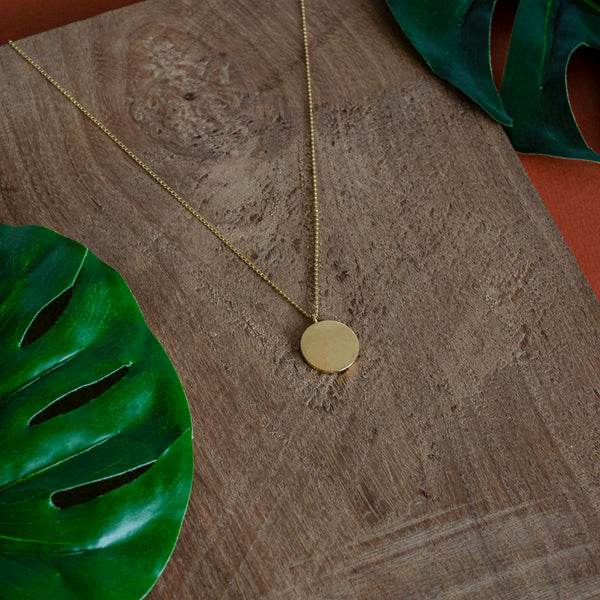 ANA Gold Necklace - CANO