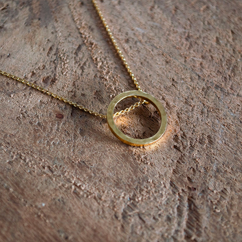 SOFÍA Gold Necklace Hammered