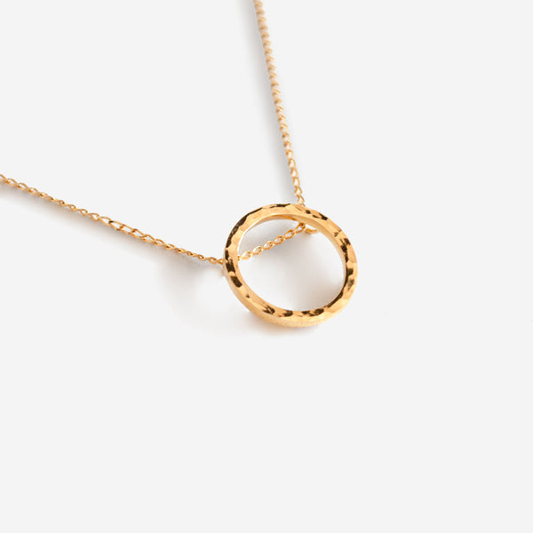 SOFÍA Gold Necklace Hammered - CANO