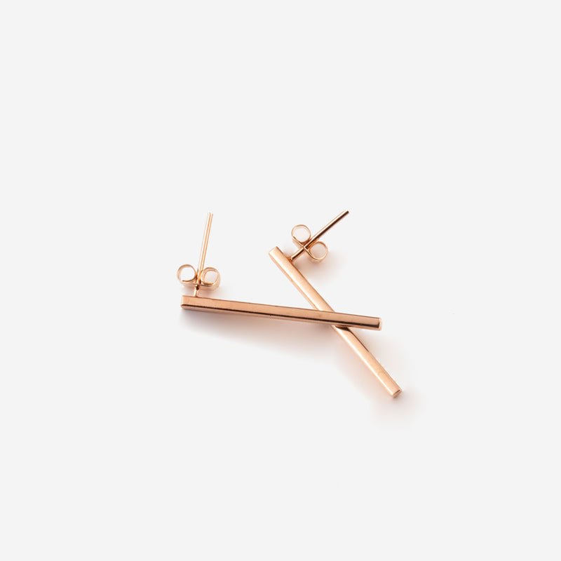 MARIBEL Rosegold Earring