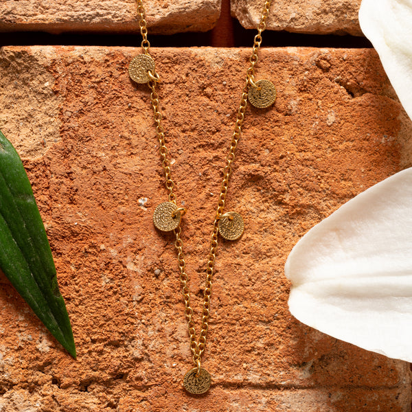 Maia Necklace Gold