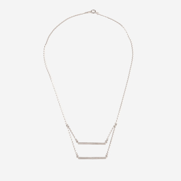 PATRICIA Silver Necklace