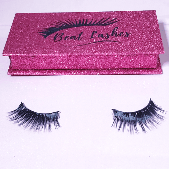 Flirtatious - Magnetic Eyeliner with 3D Faux Mink Lashes - She's A Beat Beauty