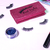 Glamorous - Magnetic Eyeliner with 3D Faux Mink Magnetic Lashes - She's A Beat Beauty