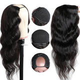 100% Virgin Human Hair U-Part Wig