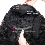 100% Virgin Human Hair Head Band Wig