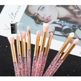 Lovely Glitter Eye Brushes Set - She's A Beat Beauty