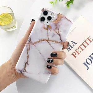Marble iPhone Case - She's A Beat Beauty