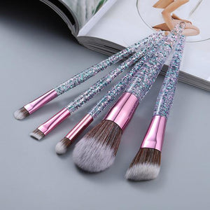 Speckles Makeup Brush Set - She's A Beat Beauty