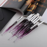 Mini Diamond Makeup Brush Set